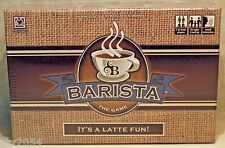Barista The Game It's A Latte Fun! Discover Bay Games 1062 NIB Coffee Lovers