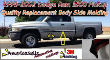 1998-2002 DODGE RAM 1500 2500 FACTORY BODY SIDE MOLDING FACTORY STYLE
