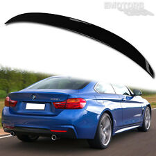 PAINTED BMW F32 4-Series P Type 2D Coupé Trunk Boot Spoiler Wing 14-16 420i 430d