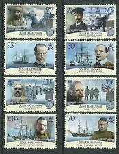 SOUTH GEORGIA  AND SOUTH SANDWICH ISLANDS 2011  FRANK WILD SET OF 8 UM, MNH