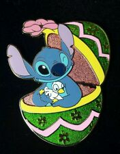 Stitch and Duckling Easter Egg Disney Shopping Pin LE 250 OC