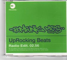(FM728) Bomfunk Mc's, Uprocking Beats - 2000 DJ CD
