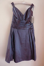 "D'ZAGE TWO TONE PROM / PARTY / BRIDESMAID DRESS  UK 14  W34""  RET £200   BNWT"