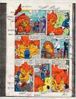 Original 1986 Marvel Comics Captain America 316 page 11 color guide artwork
