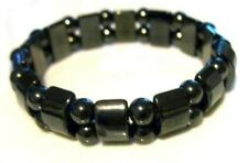 Men's Magnetic Hematite Stretch Bracelet Sports Related Pain Therapy Arthritis