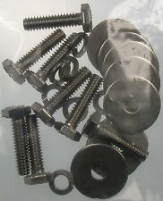 Mk2 Cortina Front Seat Bolts Stainless Steel GT Lotus Savage 1600E Super De-Luxe