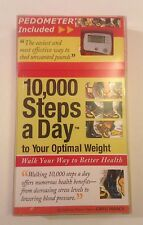 New 10,000 Steps a Day to Your Optimal Weight - Book + Pedometer by Greg Isaacs