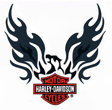 Harley Davidson Aufkleber Adler Bar + Shield 20x19cm Decal Phoenix Eagle HD XL