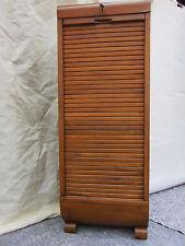Art Deco ekawerke Rolladenschrank Rollschrank Büroschrank Schubladenschrank 1930