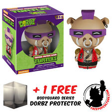 FUNKO DORBZ TEENAGE MUTANT NINJA TURTLES BEBOP FIGURE + FREE DORBZ PROTECTOR