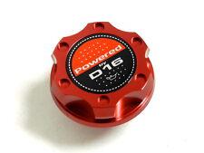 RED BILLET CNC RACING ENGINE OIL FILLER CAP HONDA CIVIC CRX DEL SOL D16
