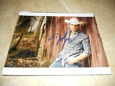 Justin Moore Sexy Autographed Signed Country Music 8x10 Photo #1 PSA Guaranteed