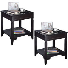 2PCS Nolan End Table Durable Quality Furniture Shelf Decor Home  Living Room New