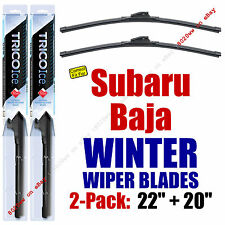 WINTER Wipers 2-Pack Premium Grade - fit 2003-2006 Subaru Baja - 35220/200