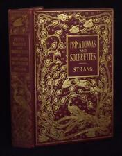 Strang Prima Donnas Soubrettes Light Opera Musical Theater 1900 Signed Binding