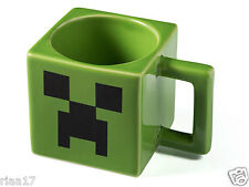 MINECRAFT MUG CREEPER FACE CERAMICS GAME CUP MUG