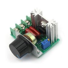 2000W 50V-220V 10A Regulador de Voltaje PWM AC Motor Controlador de Velocidad