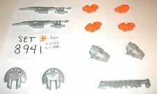 8941 Orange Bionicle Silver 4 LEGO SET 8940 8924 8697 8952 8912 8943 8927 8926