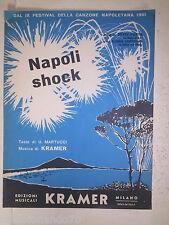 7C-NAPOLI SHOCK-MUSICA DI KRAMER-DAL IX FESTIVAL DELLA CANZONE NAPOLETANA 1961