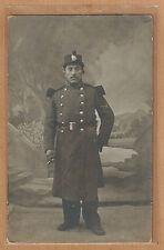 Cpa Carte Photo Militaire 53e RI Infanterie de ligne de Perpignan m071