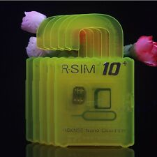 R-SIM 10+ Plus RSIM Nano Card for iPhone 4S 5 5C 5S 6 6plus 2G 3G 4G LTE iOS 9.x