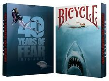 40 Years of Fear Bicycle Jaws Playing Card Deck new