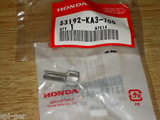 Cr125r Honda xr650-r Nuevo Genuino Palanca De Embrague Cable ajustar Perno 53192-ka3-700