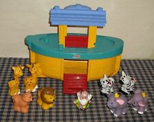 2005 Fisher Price Little People Noah's Arc With Animals