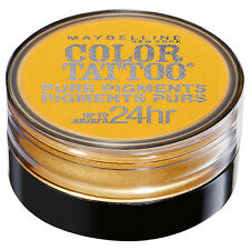MAYBELLINE Color Tattoo 24 Hour Pure Pigments - WILD GOLD #25 BUY 2 GET 1 FREE