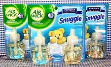 6 Refills Air Wick SNUGGLE-Fresh Linen AIRWICK Oil Refills (3 Boxes)