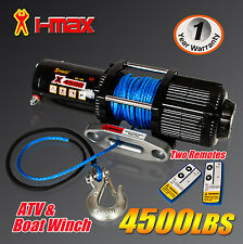 I-Max 12V Wireless 4500LBS/2041KGS Electric Winch ATV 4WD 4x4 Boat Truck 4000LBS