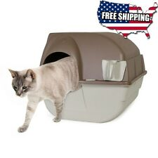 Cat Litter Box Self Cleaning Automatic Scoop Pet Clean Home Regular Size Kitty