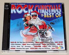ROCK CHRISTMAS - BEST OF - DOPPEL CD NEUWERTIG - WHAM SLADE BEACH BOYS OLDFIELD