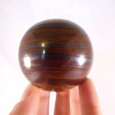 'A' Grade Rare Polished Tiger Iron 'Jupiter Jasper' Sphere Ball - 58mm, 322g