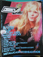 POPULAR 1 :N.136-W.A.S.P.-HANOI ROCKS-IRON MAIDEN-ACCEPT-METALLICA-MOTORHEAD