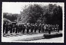 █ Ancienne Photo cérémonie militaire à identifier Seppois ??? Alsace Haut-Rhin █