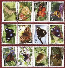 Tonga-Niuafo'ou #275-86, Butterflies, SCV $54.20