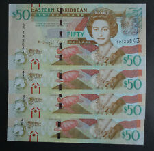 2014 ~15 East Caribbean $50 Dollar Uncirculated P-54  ( New Security Features )