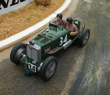 Probuild 1/32 SLOT CAR  MG K3 ( RACER ) BROOKLANDS GREEN  no.34  MB/RTR