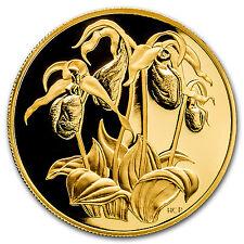 1999 Canada Proof Gold $350 Flowers - Lady's Slipper .99999 - SKU #93876