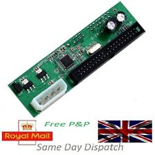 PATA IDE ZU SATA Konverter Adapter Plug&Play 7+15 Pin 3.5/2.5 SATA HDD DVD VM-UK