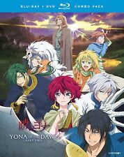 Yona Of The Dawn . Part 2 Two . Anime . 2 DVD + 2 Blu-ray . NEU . OVP