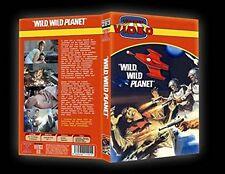 RAUMSCHIFF ALPHA - PLANET DER VERDAMMTEN Wild Wild Planet DVD RETRO BUCHBOX Neu