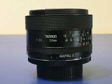 Tamron Adaptall - 24mm f2.5 Prime Lens With M42 Adaptor - Model 01B