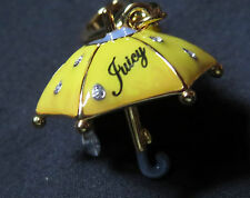 RARE *Retired JUICY COUTURE 3-D Umbrella Gold Charm YJRU0258