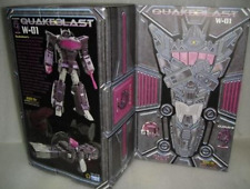 Transformers Toy W-01 Quakeblast Cloud9 C9 Shockwave in stock MISB