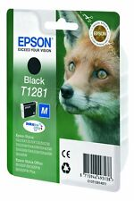 Genuine Epson T1281 Black Ink Cartridge for Stylus SX235w SX425w SX130 SX435w