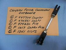 Chrysler Force Outboard Throttle Linkage P# F447704, F474881, F474620 and more