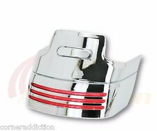 Chrome Tri-Bar Fender LED Tail Light & Extension Kit For Harley FLHR/FLT 1999+