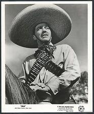 Pancho Villa LOT 12 Original 50s Photos Cesar Romero Brian Keith Margia Dean